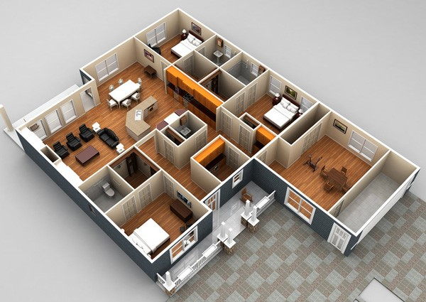 Floor Plan Disability Access Brisbane